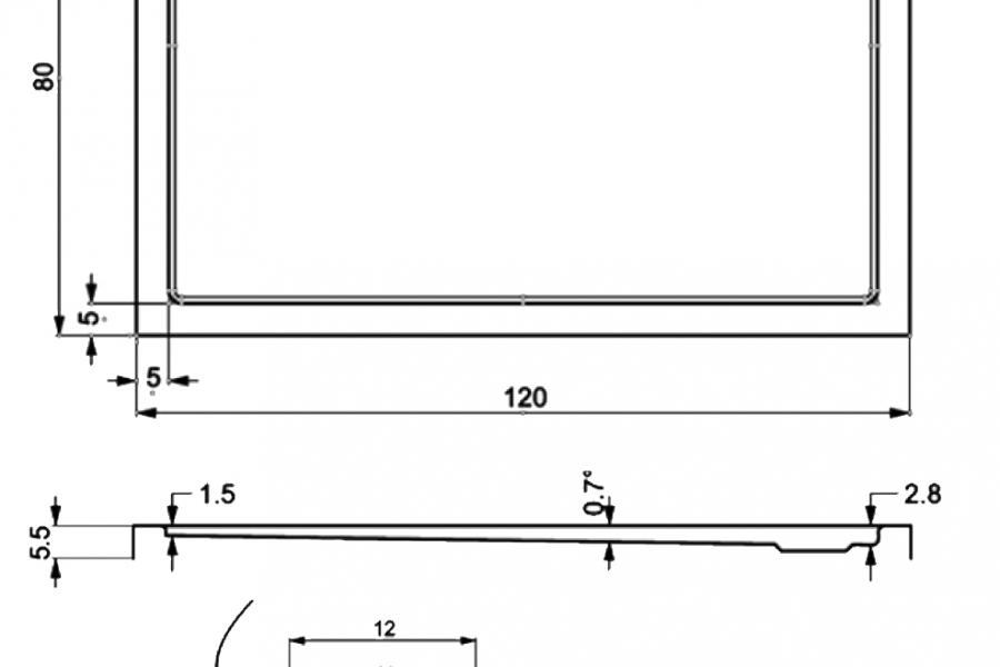 403-extarflat rectangular showertrays-a
