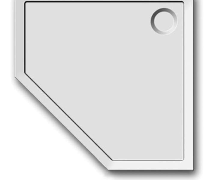 404-extarflat pentagonal showertrays-2